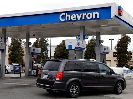 Chevron Gas