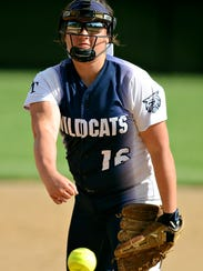 Dallastown's Jaelynn Harbold has given up just two