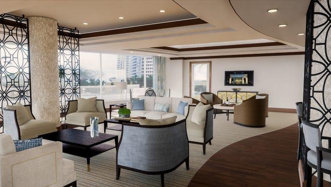 Clive Daniel Hospitality will refresh the interiors of the social room in the Vistas at Bonita Bay.