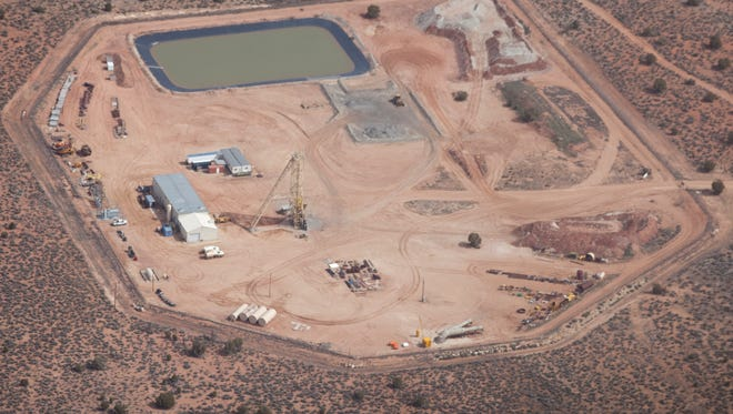 This uranium mine, photographed in 2011, is located north of Grand Canyon National Park on the Arizona Strip.