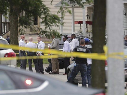 Officer Shot Milwaukee