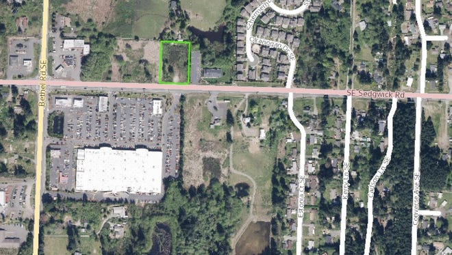 The proposed development is located at 1905 SE Sedgwick Road.