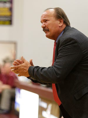 Scott County coach Billy Hicks' defense is allowing 59.7 points a game.