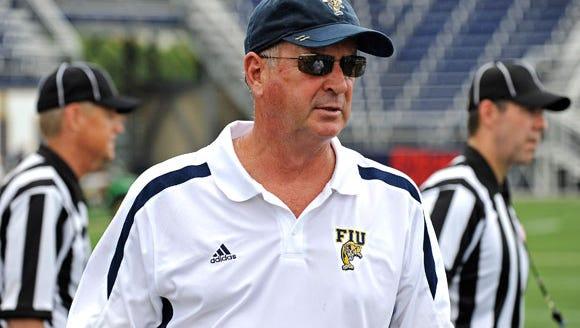 FIU head coach Ron Turner