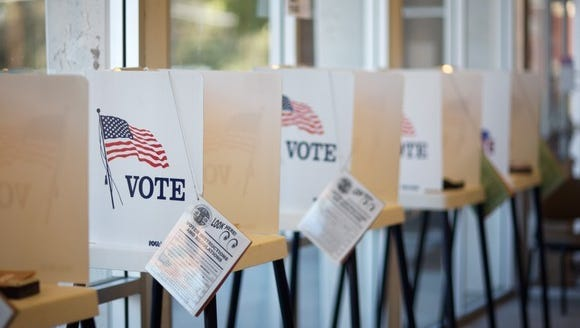 The Arizona Democratic Party is suing Secretary of State Michele Reagan for refusing to extend the state's voter registration deadline by a day even though it fell on a state and federal holiday.