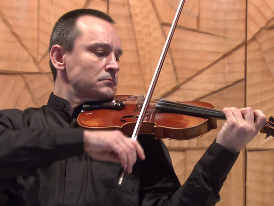 Library to present violin/harpsichord concert PHOTO CAPTION