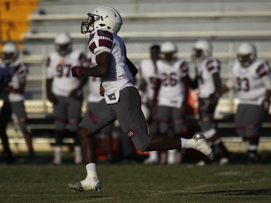 Madison County running back Teryon Henderson, who rushed