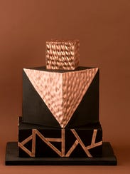 Ami Lora, of Cakes by Ami LLC created a prism themed