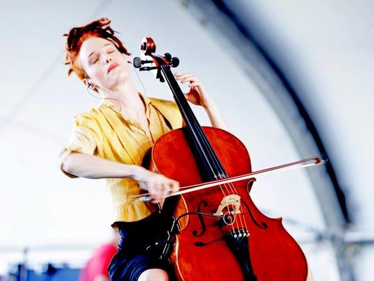Zoe Keating will be performing Nov. 12 at the Nevada