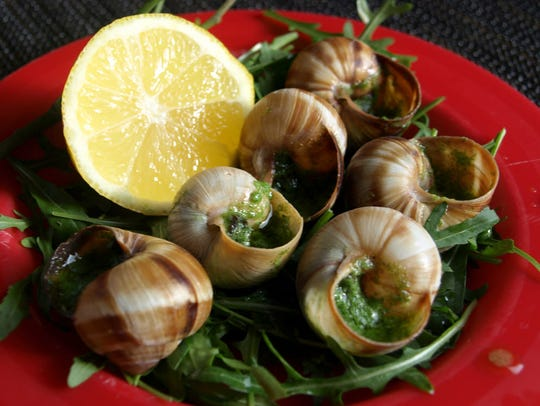 Sandy McDonald plans on raising snails with the help