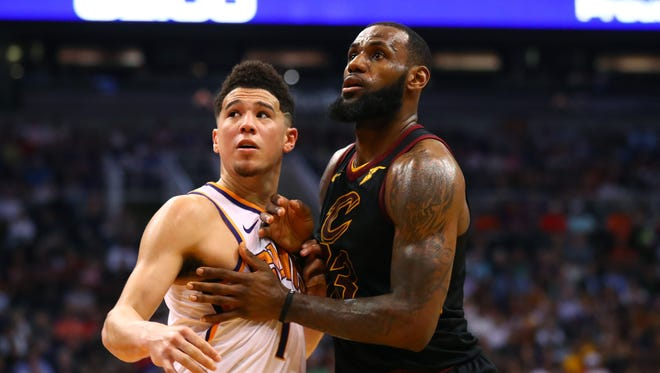 Devin Booker will be teammates with LeBron James ... on Team USA.