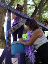 The Grape Stomp is one of the highlights of the annual
