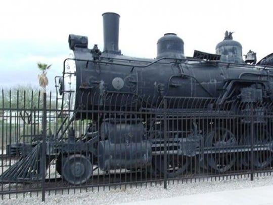 Railroad Engine 761 (1890)
