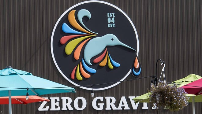 The Zero Gravity Brewery and Tasting Room at 716 Pine St. in Burlington.