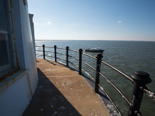 View from the Harbor of Refuge Lighthouse located at