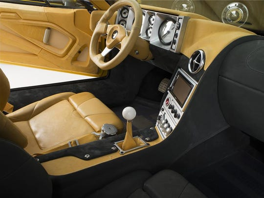 Nike collaborated with the Rings on the interior of the 1971 ADRNLN  Pantera.