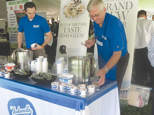 Creamy ice cream was dished up to those enjoying the Dairy Foods Awareness Day at the Capitol.