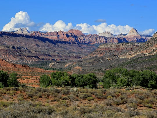 The Kolob Terrace region sits just outside Zion National