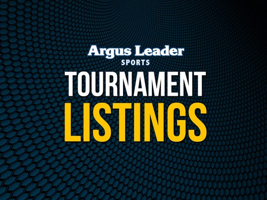 Argus Leader area sports tournament listings