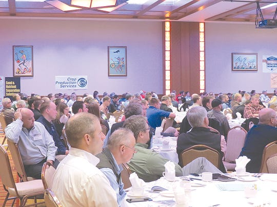 A full crowd of over 450 attendees enjoyed the 2016 Great Lakes Regional Dairy Conference in Mount Pleasant.