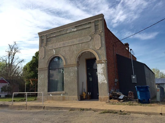 Beau Bassin Cafe is opening in this downtown Carencro building, constructed in 1906 as the Bank of Lafayette.