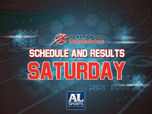 Dakota Relays: Saturday Schedule