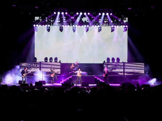 Bad Company performs at Ak-Chin Pavilion, Sunday, May 22, 2016, in Phoenix.