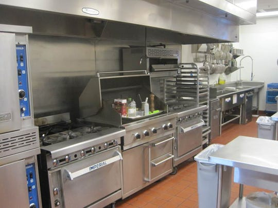 Inside the kitchen at Classic Cooking Academy in Scottsdale.