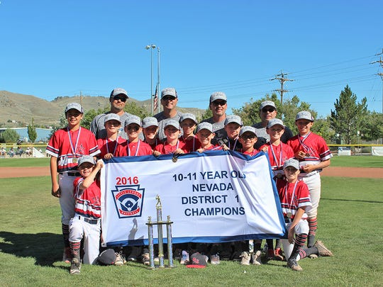 In the 10/11 age division, managed by Scott Davis, Reno American beat Carson Valley 10-2.