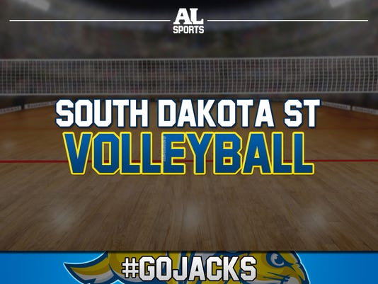 #GoJacks Volleyball Tile