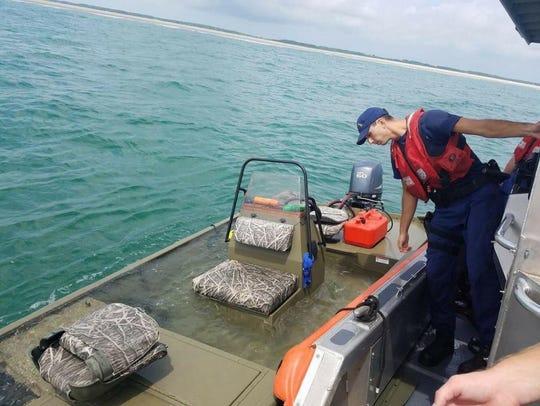 Coast Guard Petty Officer 2nd Class Ryan Sanchez, a