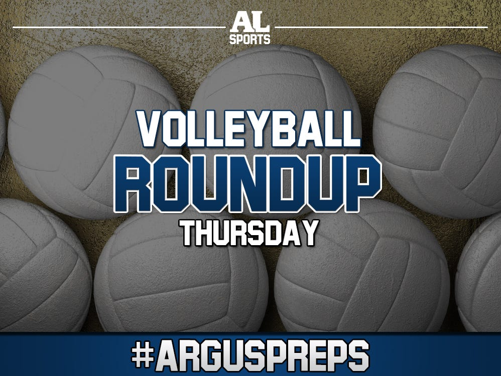 Thursday volleyball roundup