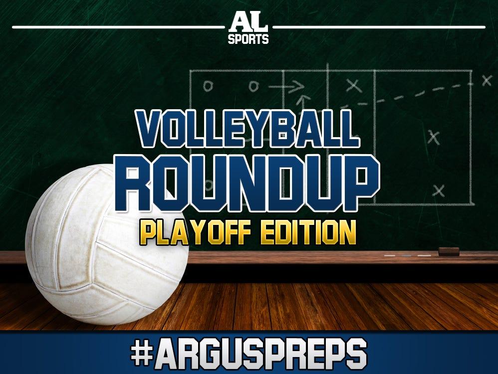 #ArgusPreps Volleyball roundup: Playoff Edition