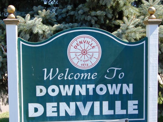 downtown Denville sign