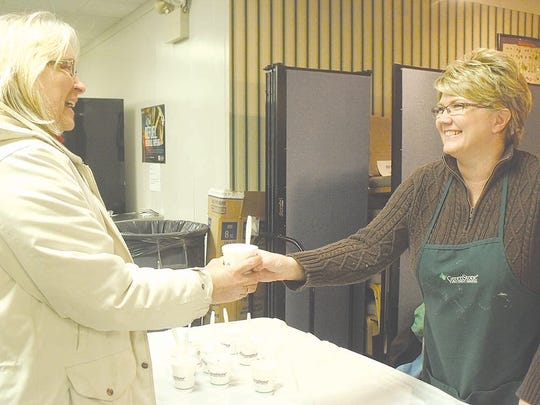 Greenstone Farm Credit Service is a regular and popular vendor as they give away cups of ice cream throughout the day.