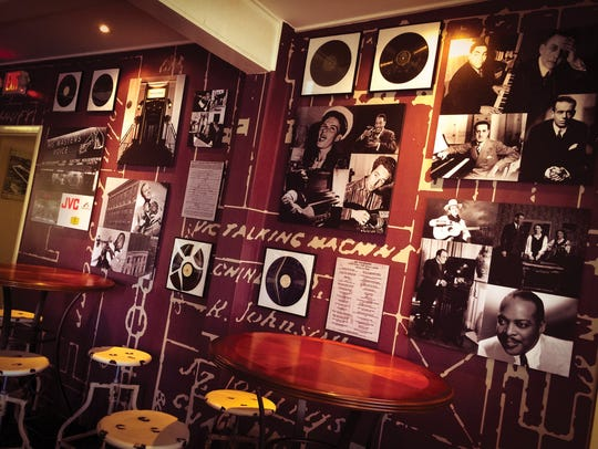The interior of The Vault at Victor Records.