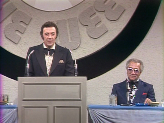 Norm Crosby on the Dean Martin 'Celebrity Roasts' from 1970s