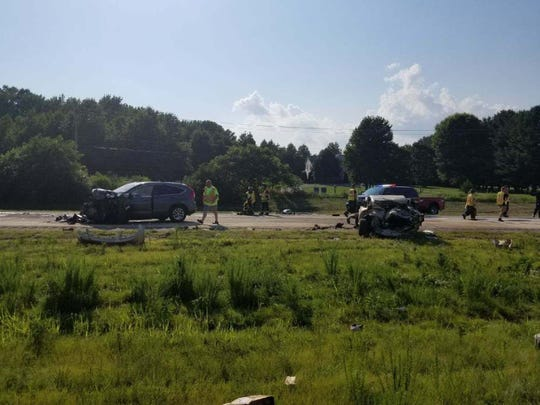 Delaware State Police is  investigating a serious crash with multiple vehicles that occurred east of Middletown Wednesday.