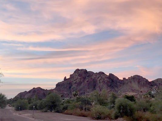 Paradise Valley sunrise