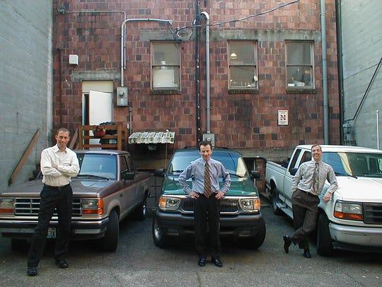 Steve Rice, left, Mike Miller, center and Dave Fergus