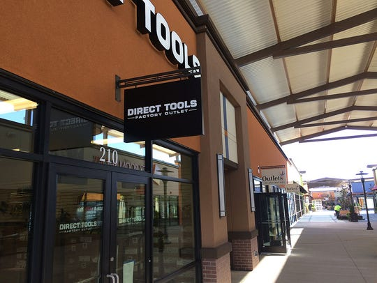 Direct Tools Factory Outlet is located in the Outlets