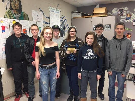 Dryden students