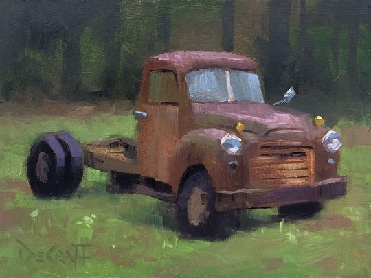 """Rust in Peace"" by Larry DeGraff"