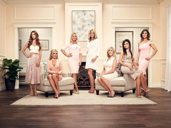 """The Real Housewives of Orange County"" season 12 cast."