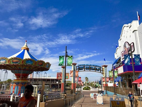 The Galveston Island Pleasure Pier is one of the most popular destinations in Texas.