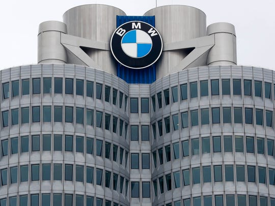 In this Wednesday, March 21, 2018 file photo, the logo of German car manufacturer BMW is pictured at the headquarters in Munich, Germany. German carmaker BMW reports its second quarter earnings on Thursday, Aug. 2, 2018.