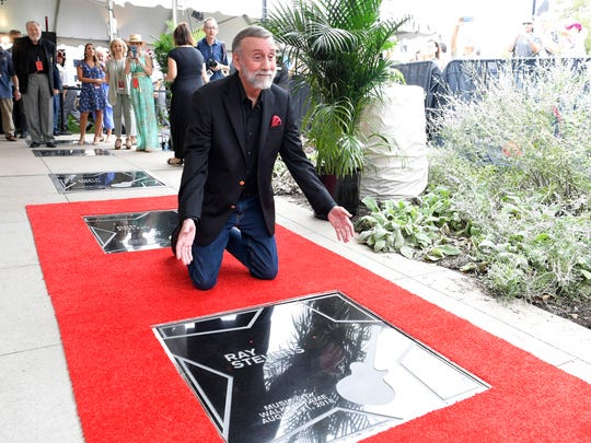 Ray Stevens was inducted into Music City Walk of Fame