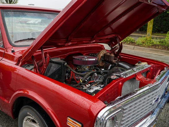 A 1969 Chevrolet C10 owned by Zeke Nauman, of Blount