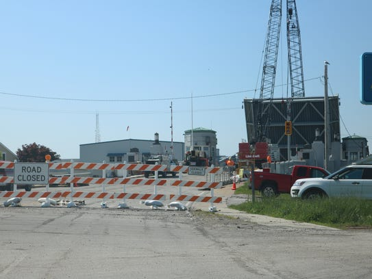The long awaited reopening of the Port Clinton Lift