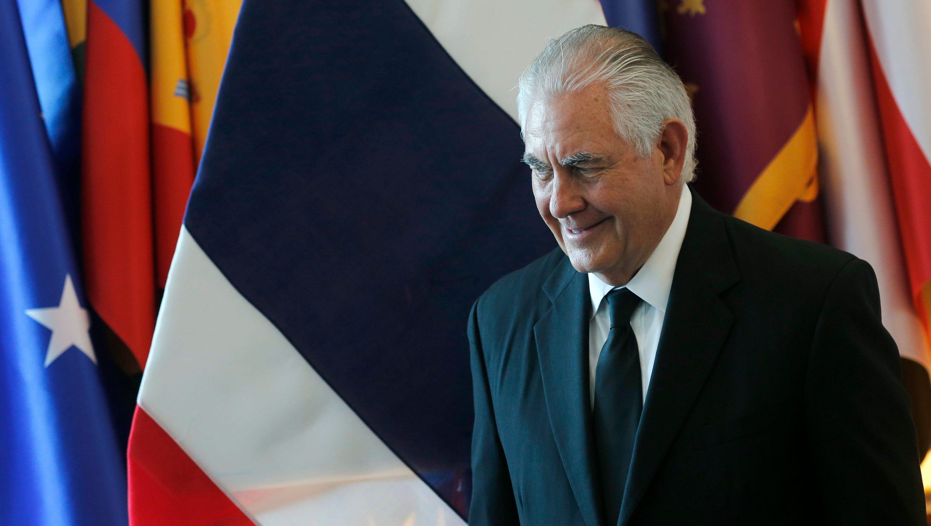 To tame North Korea, Secretary of State Rex Tillerson must master Washington